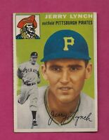 1954 TOPPS # 234 PIRATES JERRY LYNCH ROOKIE EX+ CARD (INV# A3629)