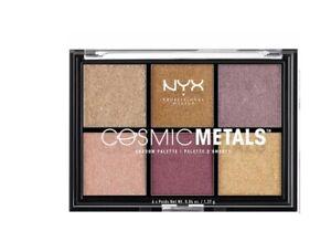 NYX Cosmic Metals Shadow Palette