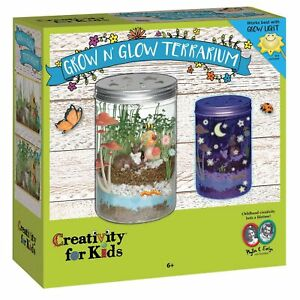 Creativity For Kids Grow 'N Glow Terrarium - FAST UK Dispatch