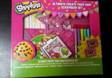Shopkins Ultimate Create Your Own Scrapbook Set - ages 6+ New in Box