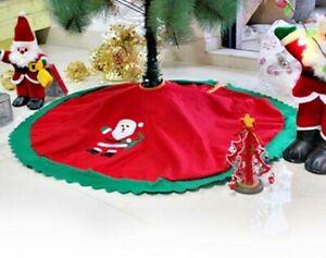Weihnachtsbaum Rock Boden Abdeckung Tisch Dekor Tannenbaum Decke  NEU