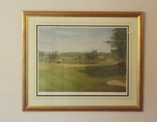 Richard Chorley Gleneagles Signed Limited Edition Print 14/850 In Gold Frame