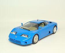 Bugatti EB110 EB 110 1991 - blau blue - Bburago 3035 - 1:18