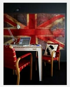 Rare Vivienne Westwood 9ft Union Jack Cole And Son Wall Paper Murial Art 2009