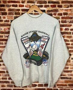 Atlanta Braves Sweatshirt Vintage 1995 World Series vs Cleveland Indians Gift