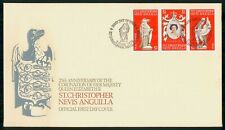 Mayfairstamps St Christopher Nevis Anguilla FDC 1978 25th Anniv Coronation Queen