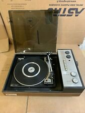 BSR P128 TURNTABLE Record Player Vintage PYE Black Box Casing A1 1