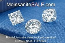 MOISSANITESALE.COM Premium Domain Name sale loose moissanite or jewelry on line