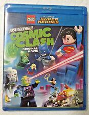 LEGO DC Comics Super Heroes: Justice League - Cosmic Clash (Blu-ray Disc, 2016)