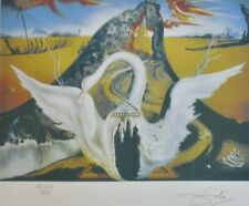 SALVADOR DALI BACCHANALE HAND NUMBERED PLATE SIGNED LITHOGRAPH