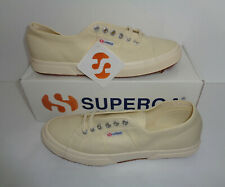 Superga 2750 Cotu Classic Canvas Beige Mens Shoes Trainers RRP £50 UK Size 14.5