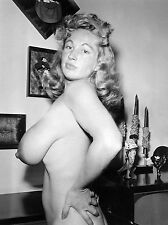Vintage Virginia Bell Profile Pose and those grandiose Breasts 8 x 10 Photograph