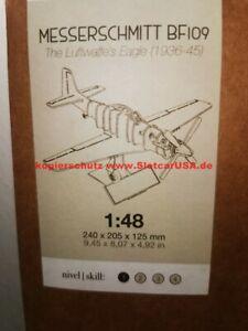 Artesania Latina 30217 Wood Building Set 1/48 Messerschmitt Bf 109