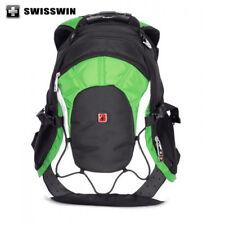 """SWISSWIN Swiss Backpack/Travel Backpack/School Backpa SW9663 orange 15.6"""" Laptop"""