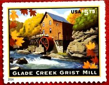 2014 US SC #4927 $5.75  Priority Mail Glade Creek Grist Mill