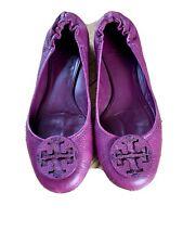 Stunning Purple Tori Burch Pumps Size 5 (38)