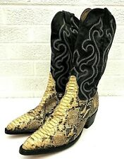 Finn's Exotic Snakeskin Cowboy Western Boots El Paso TX Size 4 1/2? SEE DETAILS