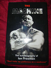 The Machine~autobiography of Ian Freeman~Vale Tudo~Fighting~HB
