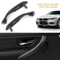 Car Inner Door Handle Pull Trim Cover Front Left+Right for BMW 3Series F30 F35