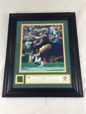 Brett Favre 2002 Danbury Mint Piece Of The Action Photo Game Used Swatch Framed