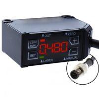 OPTEX CD22-15VM12 DIFFUSE 15MM ±5MM, DIGITAL DISPLAY 0-10VDC QD  MFGD