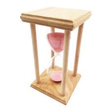 30 Minutes Sablier Cuisine Minuterie Oeuf Sandclock Home Decor, Rose