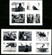 Great Britain 2001 Dog & Cat S/A Booklet Issues Complete Set of 10 MNH Stamps