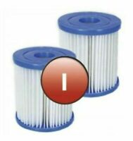 2 x Bestway 58093 Pool Filter Cartridge SIZE I for Swimming Pool PUMP TYPE 1