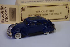 BROOKLIN BRK 7 CHRYSLER AIRFLOW 1934 4 DOOR SEDAN 1/43