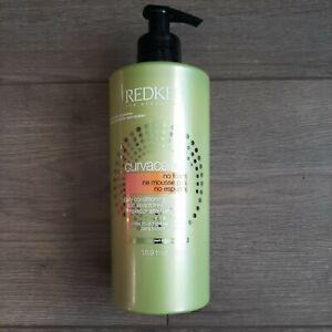 Redken Curvaceous No Foam High Conditioner Cleanser 16.9 fl Oz NWOB