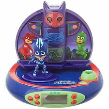 PJ MASKS RADIO ALARM CLOCK PROJECTOR NIGHT LIGHT WITH SOUNDS KIDS