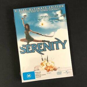 JOSH WEDON'S SERENITY ( FIREFLY ) DVD 2 Disc Set REGION 4 2005 SEALED