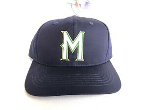 VINTAGE DEADSTOCK MILWAUKEE BREWERS TWINS ENTERPRISE SNAPBACK HAT S/M YOUTH CAP