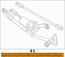 NISSAN OEM 14-17 Sentra Wiper-WINDSHIELD-Linkage Assembly 288003SG1A