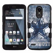 For LG Stylo 3 LS777 Hard Impact Armor Hybrid Case Dallas Cowboys #V