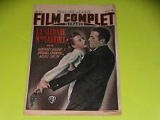 FILM COMPLET N° 127 - LA SECONDE MME CARROLL - H.BOGART - B. STANWICK - 11/11/48