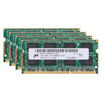 New Micron 8G 4x 2GB PC3-10600 DDR3-1333mhz 204pin pc10600 CL9 Laptop Memory