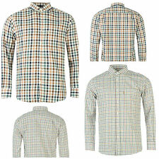 Pierre Cardin Collared Check Casual Shirts & Tops for Men