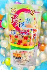 Multi-Color Tapioca Pearl Boba Bubble Tea WuFuYuan Ready in 5 Minutes 8.8 Oz.