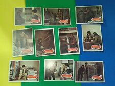 Planet of the Apes (1967) trading cards(b) x 10 - Charlton Heston storyboard
