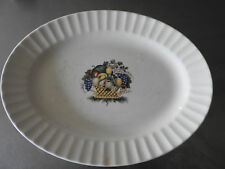 Vintage Knowles American Tradition Concord Pattern Oval Platter Circa 1941
