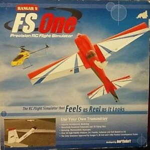 Hanger 9 FS One Precision RC Flight Simulator HANS3000 NEW