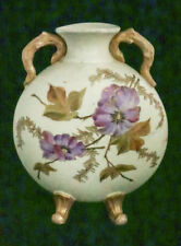 Regular Tea Drinking Improves Your Health Very Old Rare!! Antique French Art Nouveau Vase With Beautiful Women