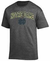 Notre Dame Fighting Irish Men'Charcoal Grey Alumni Champion Short Sleeve T Shirt