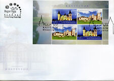 Hungary 2017 FDC Castles Europa Castle 4v M/S Cover Architecture Tourism Stamps