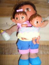 """Nick Jr. Big Sister Dora Plush Brother & Sister Plush 5"""" Talking Doll"""