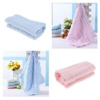 Prettyia 2Pcs Soft Muslin Cotton Swaddle Baby Blanket Patterns Nursing Towel