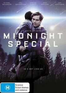 MIDNIGHT SPECIAL DVD Michael SHANNON Joel EDGERTON Kirsten DUNST Sam SHEPARD