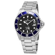 Revue Thommen Men's Diver Black Dial Stainless Steel Automatic Watch 17571.2135