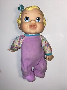 """Baby Alive 2009 Hasbro Doll Bouncing Baby Laughing Talking Toy 12"""" Giggles"""